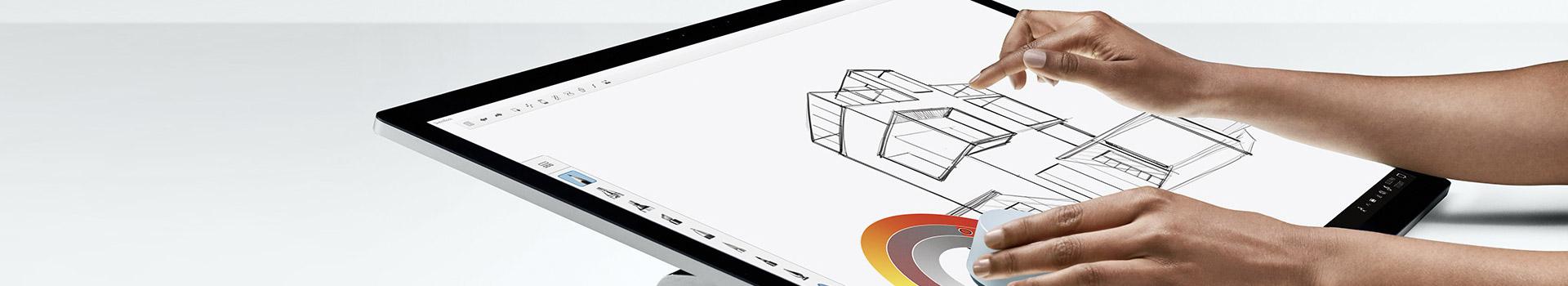 Een week als Grafisch Designer met een Surface Studio