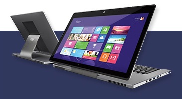 Hybride laptops
